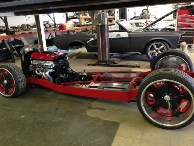 1934 Ford Coupe with a LSA V8 – Engine Swap Depot