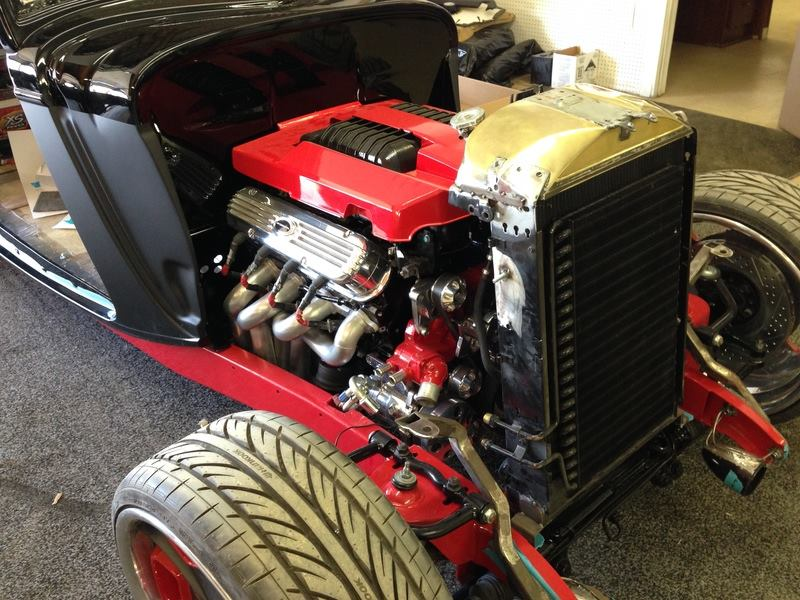 1934 Ford Coupe With A Lsa V8 Engine Swap Depot