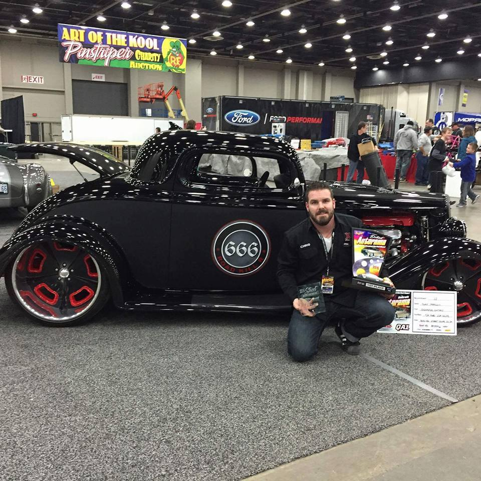 1934 Ford Coupe With A Lsa Engineswapdepot Com