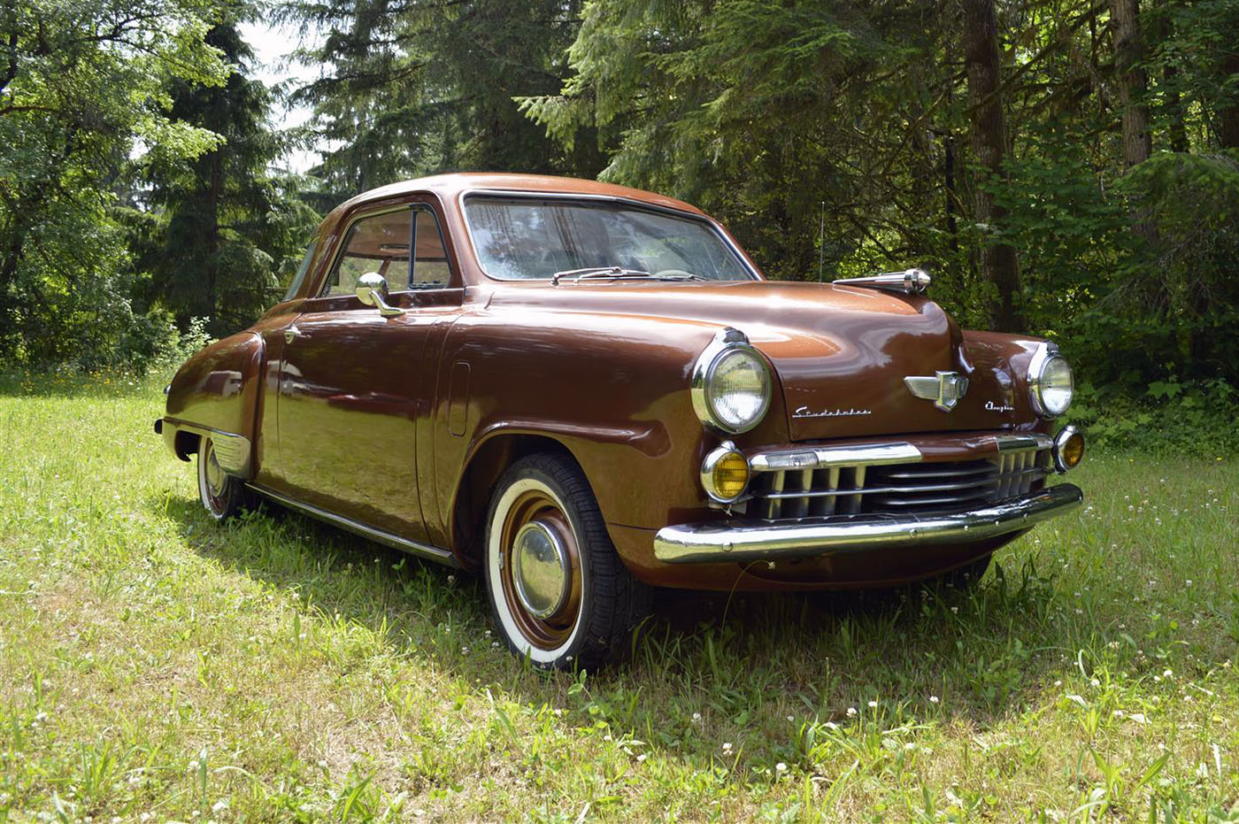 Three Car Garage 1948 Studebaker With A Skyline Powertrain Engine Swap Depot