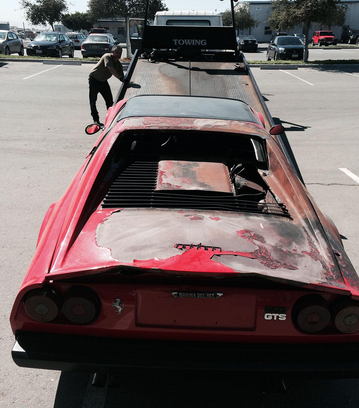 The Electric Ferrari Engineswapdepot Com