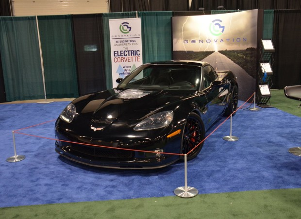 Genovation GXE Corvette Z06 with an electric motor