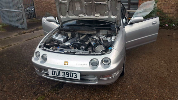Honda Integra with a Nissan RB25 – Engine Swap Depot