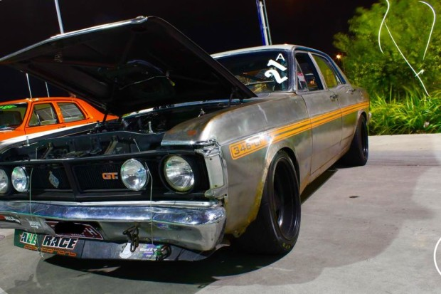 James Mackie 1971 Ford XY Falcon with a LS1