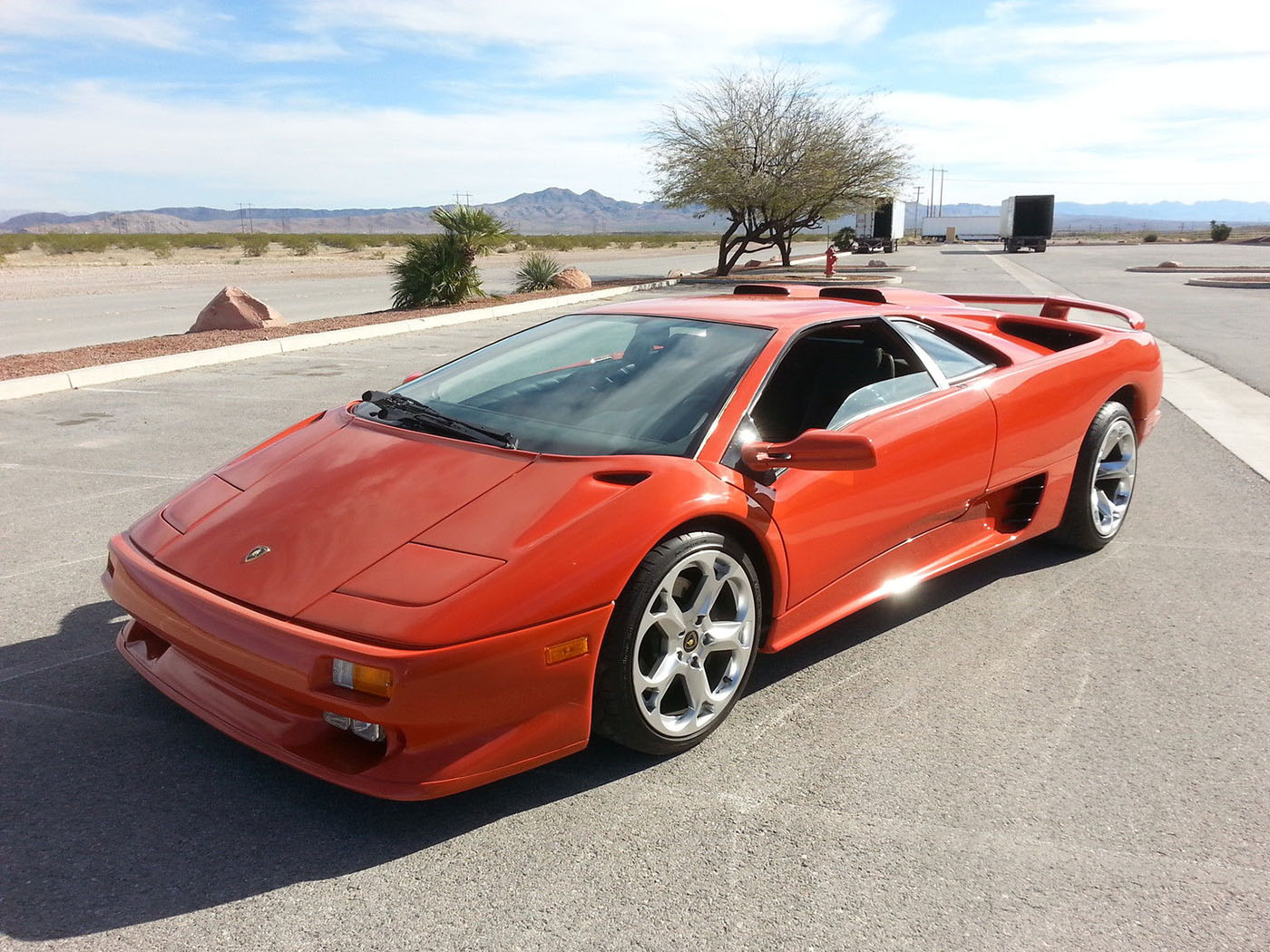 If You Have Been Searching For Something With Supercar Looks But With A  Drivetrain You Can Have Serviced Without Breaking The Bank Then This Diablo  Might Be ...