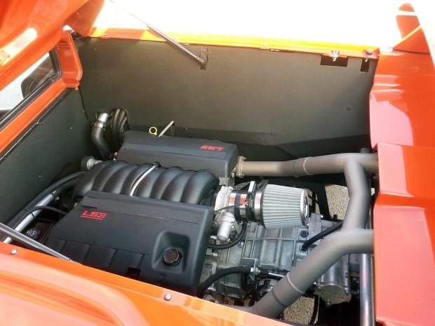 Lamborghini Diablo with a LS3