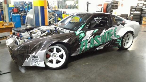 Nissan 200SX with a VR38DETT