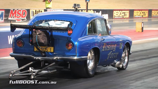 Phil Penny's Honda S600 with a turbo 3.2 L 2JZ