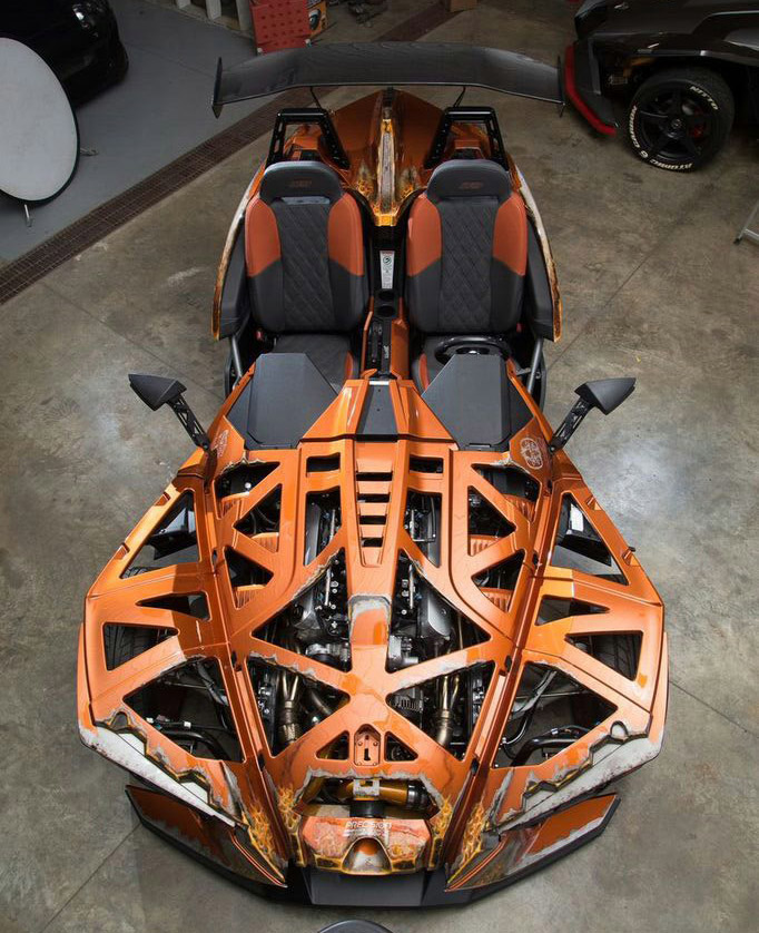 Polaris Slingshot With A Turbo Ls3 Engine Swap Depot
