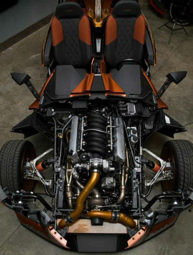 Polaris Slingshot with a turbo LS3