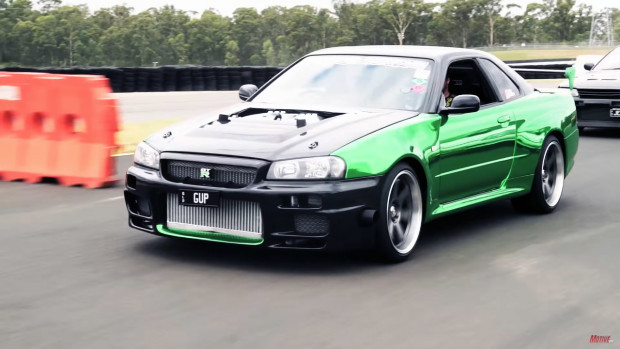 Project Erubisu R34 Skyline with a VR38DETT - Part 5 - at Powercruise