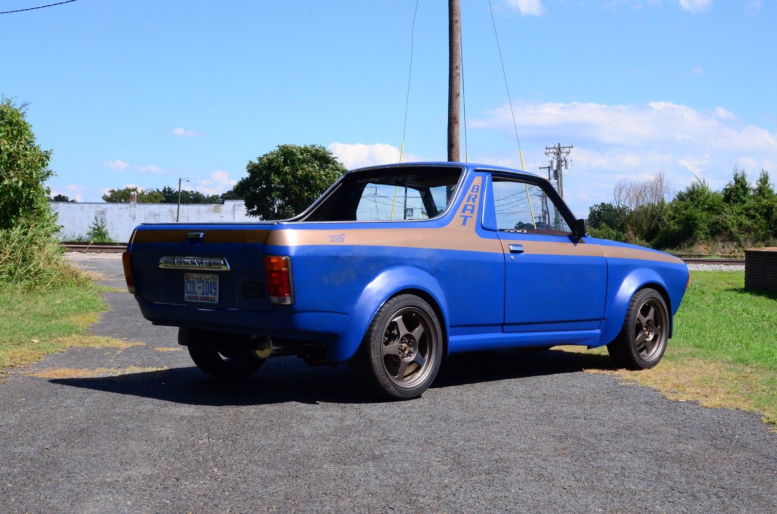 subaru brat with an ea