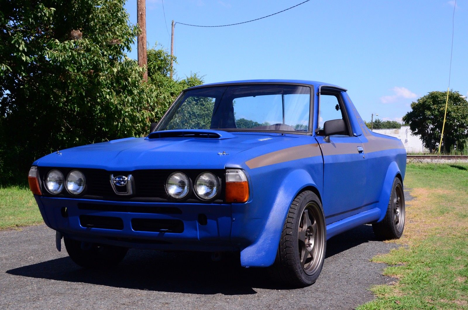 Subaru Brat With An Ea 82 Engine Swap Depot