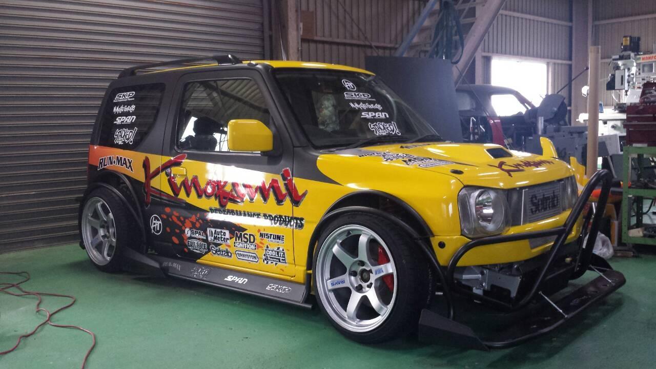 Suzuki Jimny With A Sr20det Engineswapdepot Com