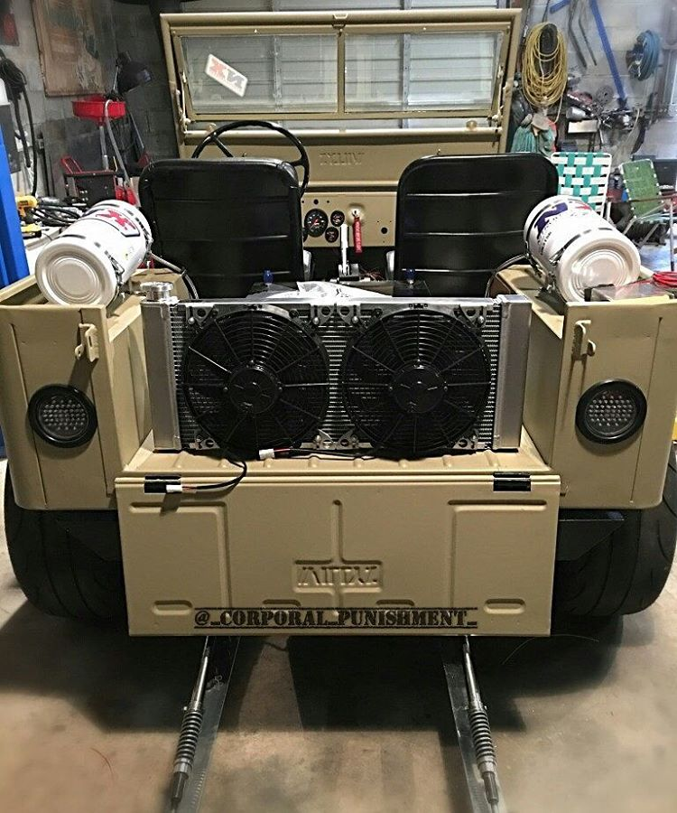 Willys Jeep with a Turbo LSx ndash Engine Swap Depot