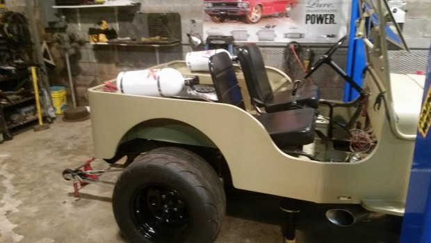 Willys Jeep with a Turbo LSx