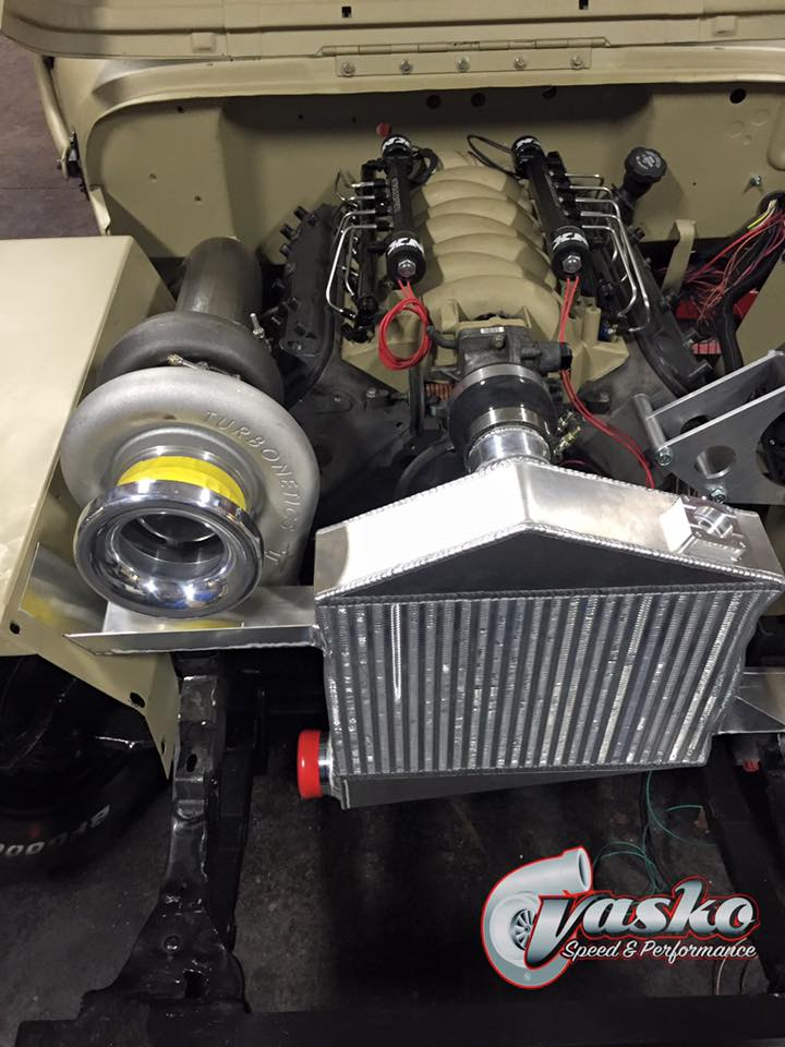 Willys Jeep With A Turbo Lsx Engine Swap Depot