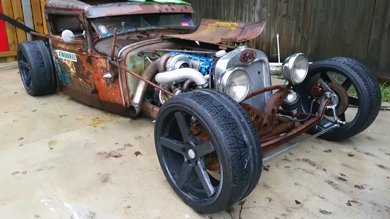 1931 Ford Model A Rat Rod Pickup With A 2jz Engine Swap