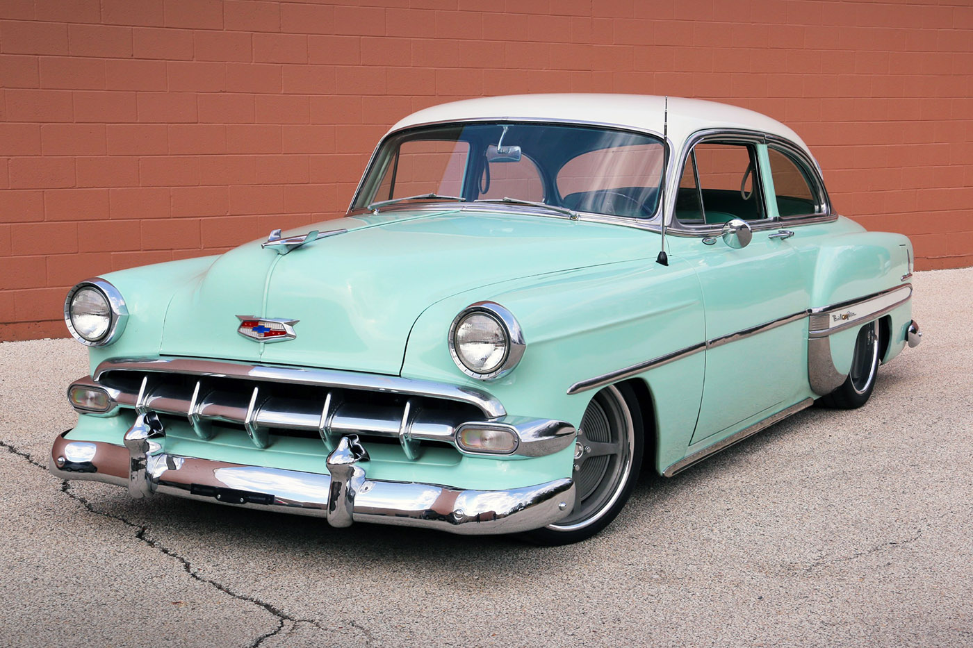 1954 Chevy With A Supercharged 454 Lsx Engine Swap Depot 1949 Truck Frame
