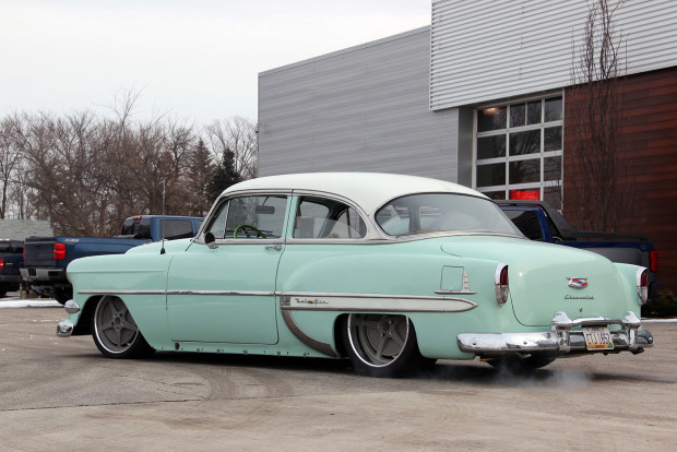 1954 Chevy with a Supercharged 454 ci LSx