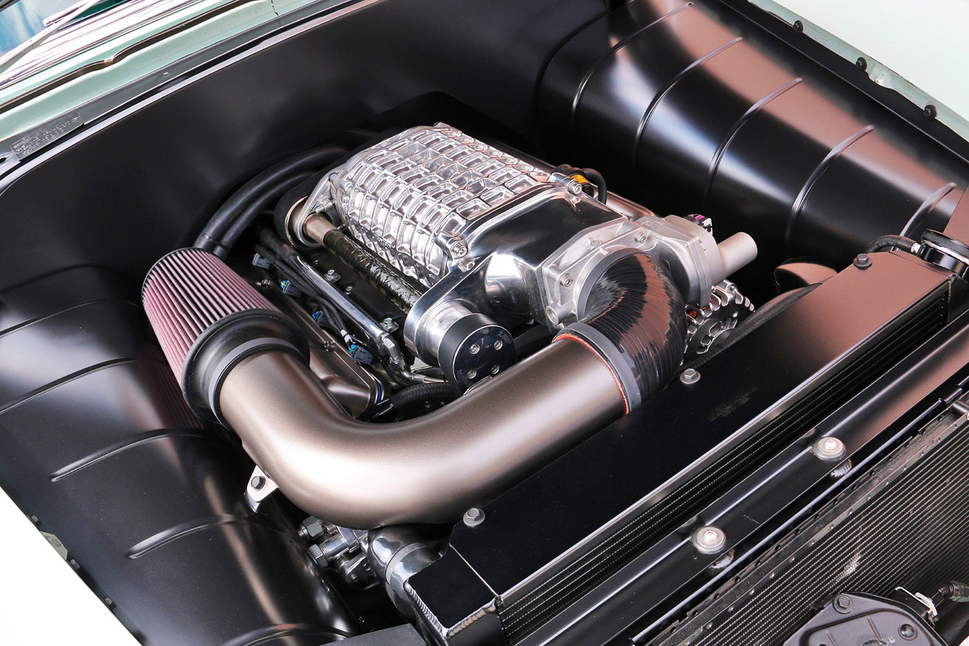 Bel Air Car >> 1954 Chevy with a Supercharged 454 LSx – Engine Swap Depot