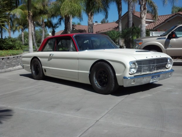 1963 Ford Falcon with a 5.0 L Coyote V8