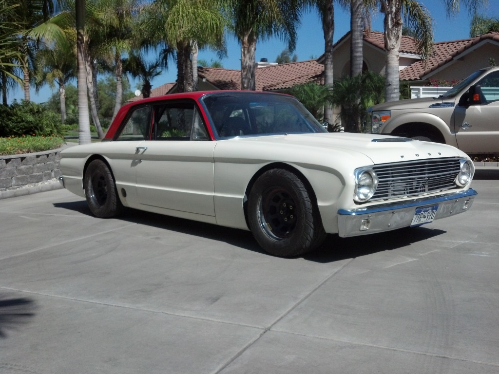 Ford Falcon with a Coyote V8 – Engine Swap Depot