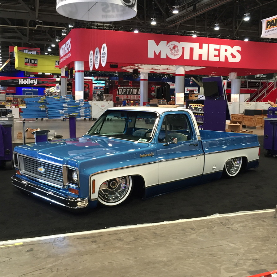 1974 Chevy Cheyenne with a LS3 – Engine Swap Depot