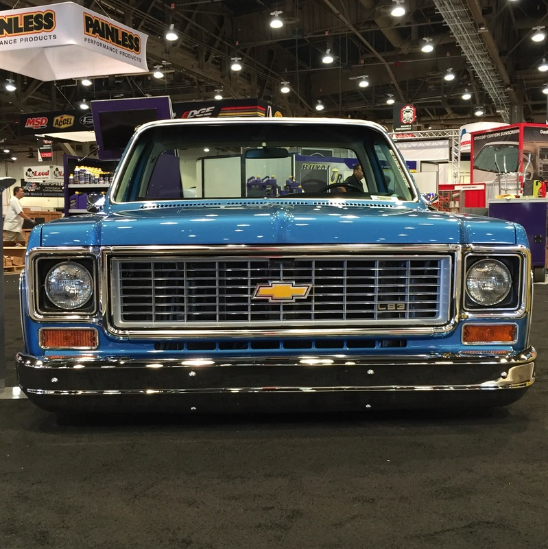 Chevy Cheyenne Super Truck With A Ls
