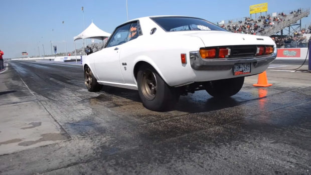 1975 Toyota Celica with a 2JZ