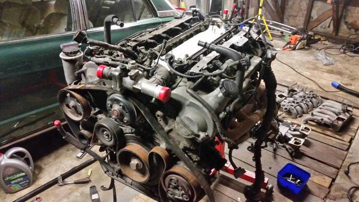 1979 Toyota Corona Mark Ii With A 1gz Fe V12 Engine Swap Depot Ls1 Wiring Harness