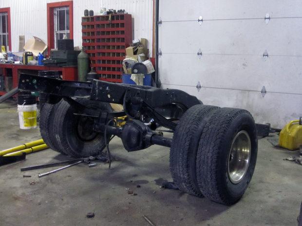 1985 Dodge Ram with a turbo 5.9 L Cummins