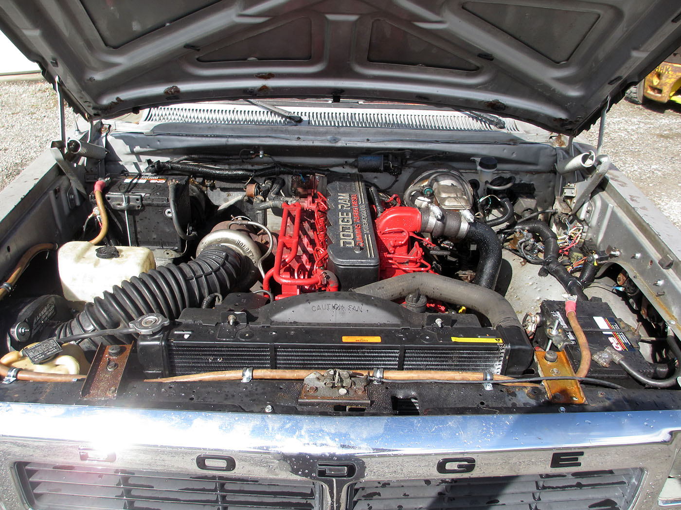 1985 Dodge Ram with a 5.9 L mins – Engine Swap Depot