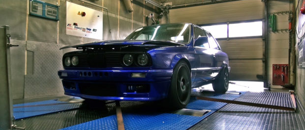 BMW E30 with 1225 HP S38 I6