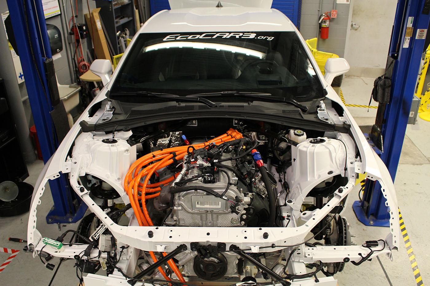 Camaro with a Hybrid Powertrain – Engine Swap Depot