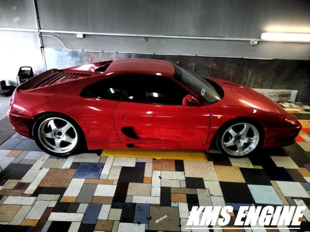 Ferrari F355 with a Twin-turbo BMW M73 V12