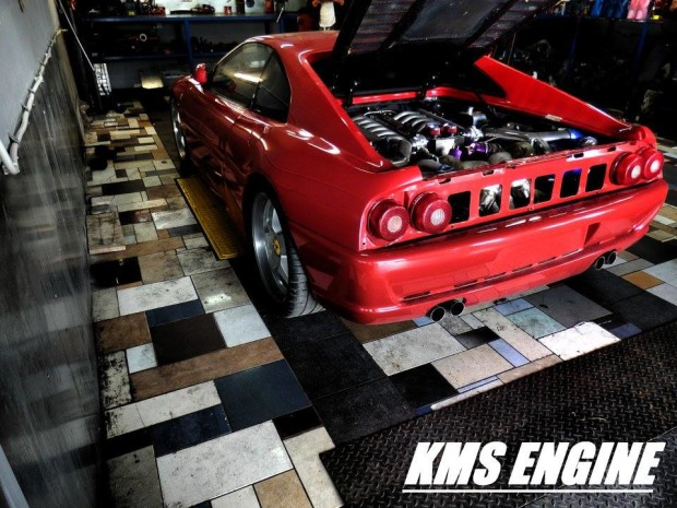 Ferrari F355 with a Twin-turbo BMW M73 V12