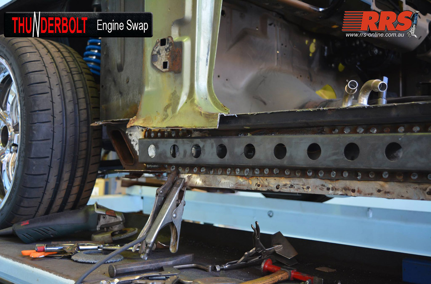 Coyote Swap Kit For Classic Fords Engine Depot Jeep Under Dash Wiring Harness