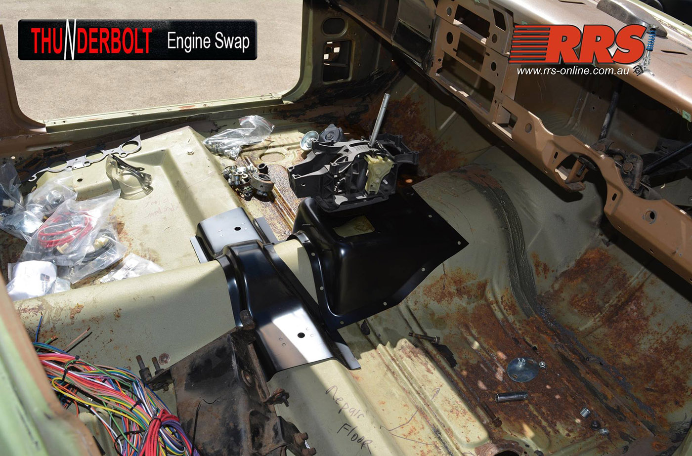 Coyote Swap Kit For Classic Fords Engine Depot 1960 Ford Ranchero Wiring Harness