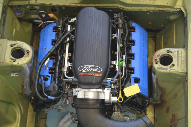 Ford Falcon XY with a Coyote Aluminator XS