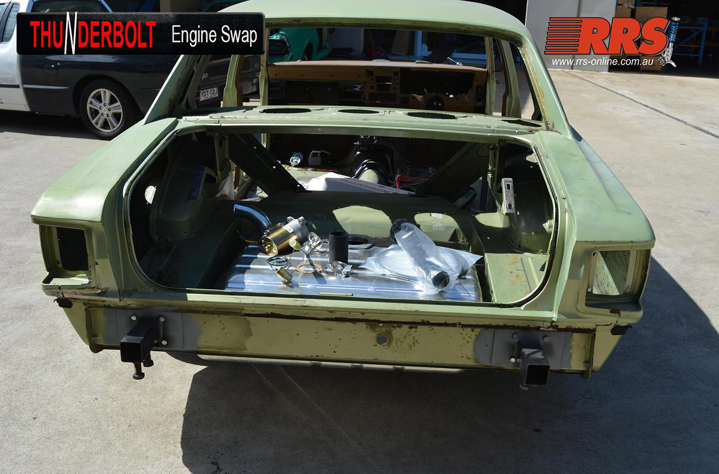 Coyote Swap Kit for Clic Fords – Engine Swap Depot on shadow cars, pd cars, fy cars,