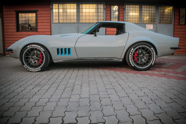 HEB C3 Corvette with a C6 Powertrain LS3