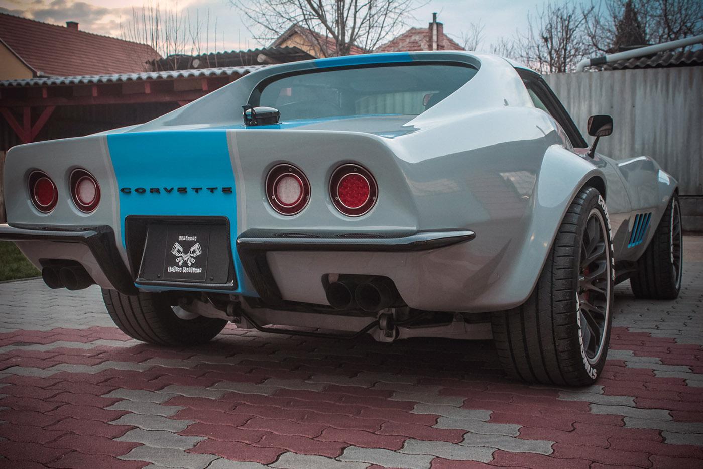C3 Corvette with a C6 Powertrain – Engine Swap Depot