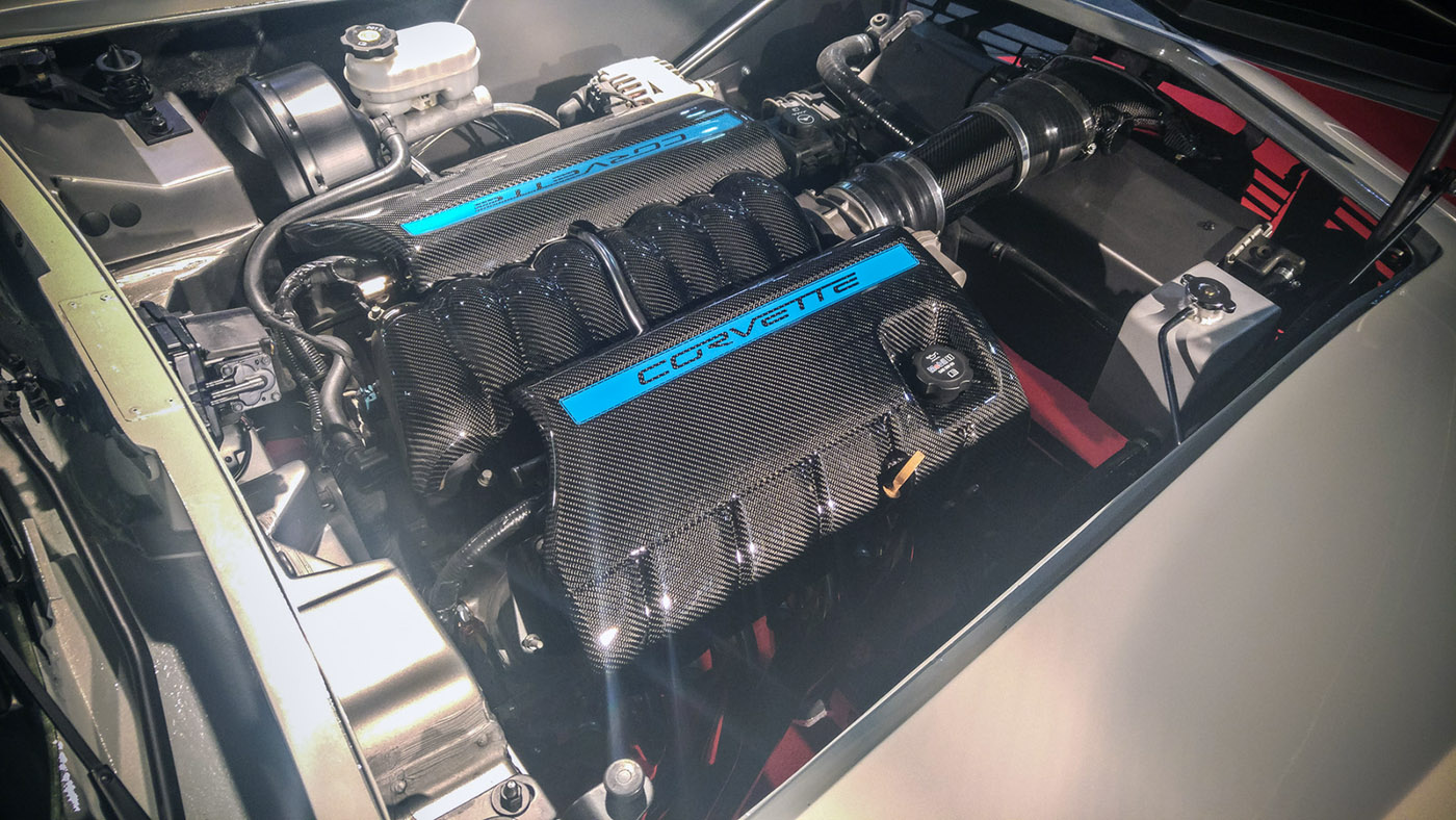 C3 Corvette With A C6 Powertrain Engine Swap Depot