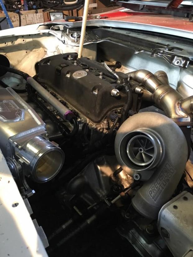 Honda NSX with a Turbo K20