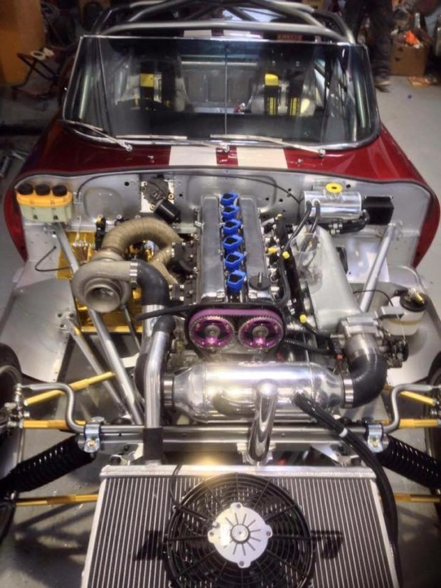 Jaguar E-Type with a 1JZ-GTE