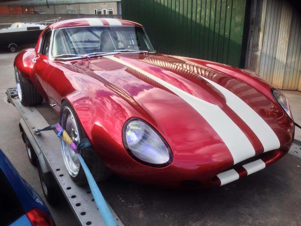 Bmw Car Custom >> Jaguar E-Type with a 1JZ – Engine Swap Depot