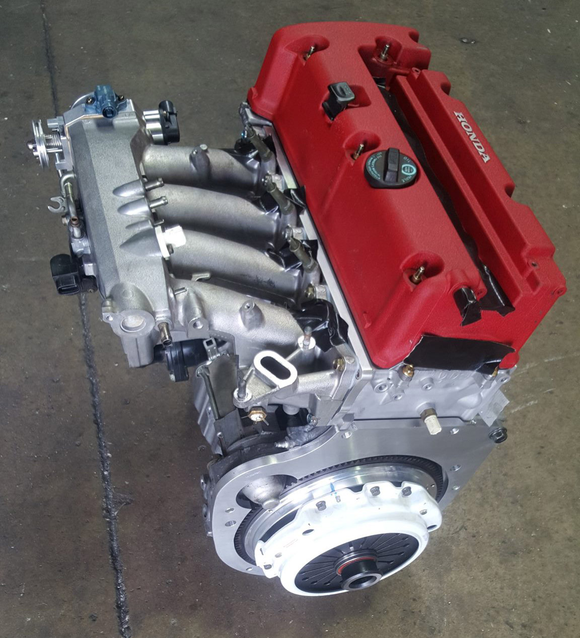 Rx7 Engine Is: Mazda RX-7 With A Turbo K20