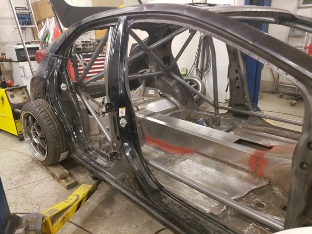 RWD 2016 Honda Civic with a Turbo K24