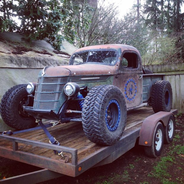 1937 International Truck with a 5.7 L LS6